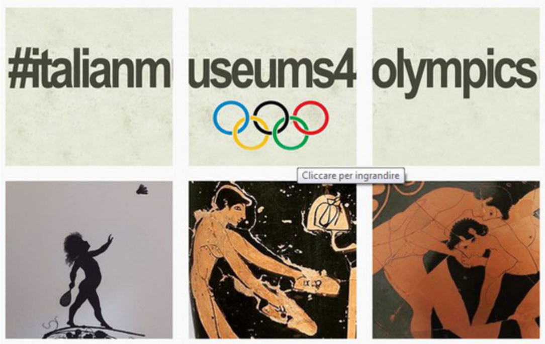 #italianmuseums4olympics
