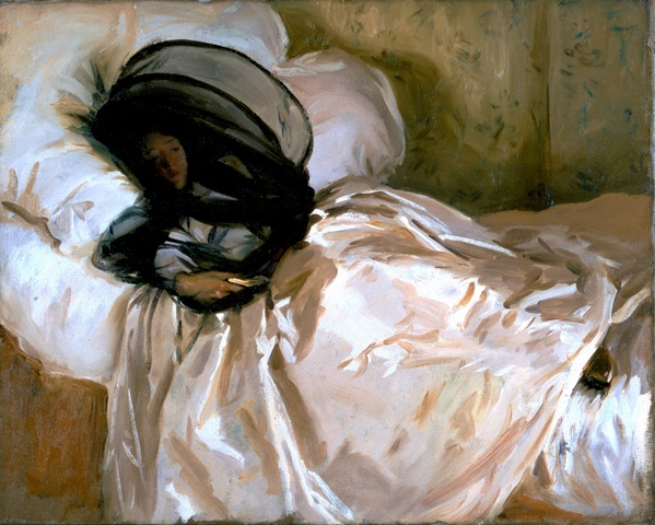 John Singer Sargent, The mosquito net, 1912, White House